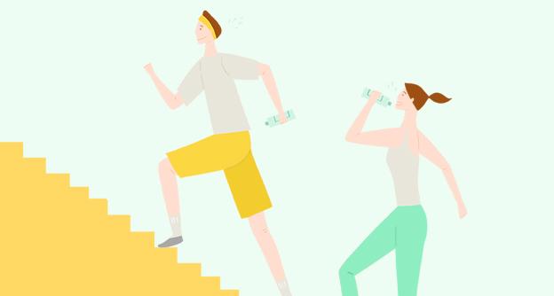 '계단 오르기 운동'에 숨겨진 효과