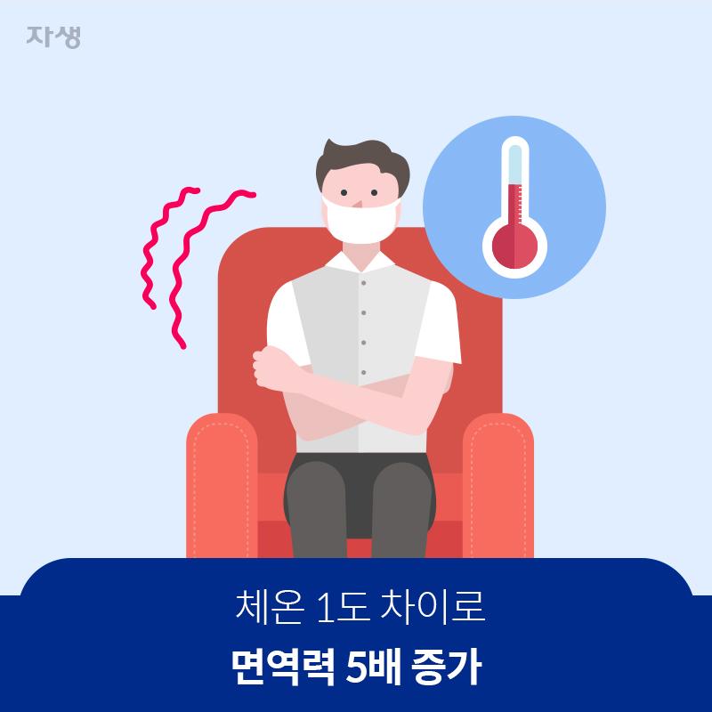 체온 1도 차이로 면역력 5배 증가 | 자생한방병원·자생의료재단