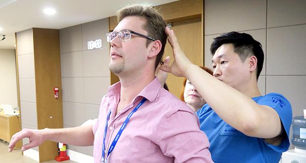 자생한방병원,<br />러시아ㆍ벨라루스 의료진 대상 한의학 임상 연수 프로그램 진행