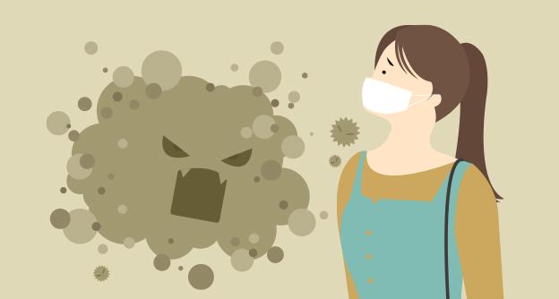 [카드뉴스] 황사·미세먼지 폭탄에 대처하는 우리의 자세