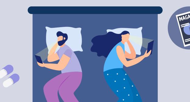 누워서 스마트폰 하다 허리 건강 망쳐요
