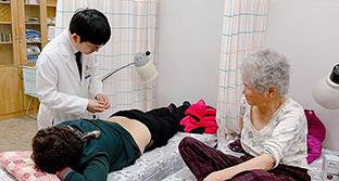 대전자생한방병원,<br /> 대전 서구 기성보건지소 한방 의료봉사